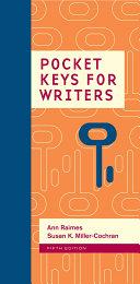 Pocket Keys for Writers, Spiral bound Version