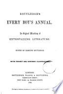 Routledge's Every Boy's Annual