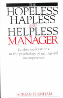 The hopeless, hapless and helpless manager