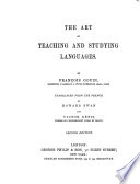 The Art of Teaching and Studying Languages Book