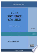 Türk Mitolojisi Sözlüğü - Sadeleştirilmiş
