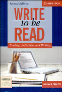 Write to be Read Student's Book