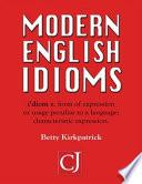 Modern English Idioms