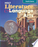 Holt Literature and Language Arts Fourth Course - California Edition