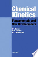 Chemical Kinetics  Fundamentals and Recent Developments