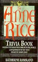 Pdf The Anne Rice Trivia Book