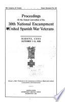 Proceedings ... National Encampment of the United Spanish War Veterans