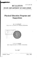 Physical Education Program and Suggestions