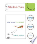 Real World Psychology Binder Ready Version + WileyPLUS Registration Card
