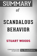 Summary of Scandalous Behavior by Stuart Woods  Conversation Starters Book