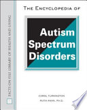 The Encyclopedia of Autism Spectrum Disorders