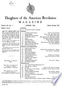 Daughters of the American Revolution Magazine