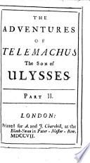 The Adventures of Telemachus the Son of Ulysses  by F  de Salignac de la Mothe F  nelon      The Sixth Edition Book