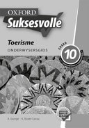 Books - Oxford Suksesvolle Toerisme Graad 10 Onderwysersgids | ISBN 9780195999198