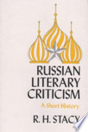 Russian Literary Criticism