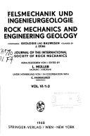Felsmechanik und Ingenieurgeologie