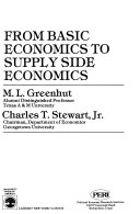 From Basic Economics to Supply Side Economics Book PDF