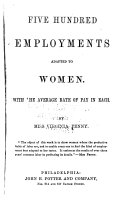 Five Hundred Employments Adapted to Women