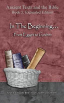 In The Beginning From Egypt To Goshen Expanded Edition Book PDF