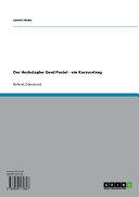 Der Hochstapler Gerd Postel - ein Kurzvortrag