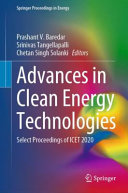 Advances in Clean Energy Technologies Book