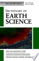 Dictionary of Earth Science