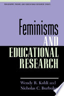 Feminisms and Educational Research Book