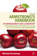 Armstrong s Handbook of Management and Leadership