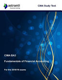 Cima Ba3 Fundamentals of Financial Accounting Study Text