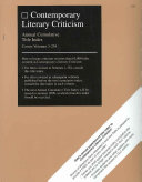 Contemporary Literary Criticism Cumulative Title Index