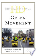 Historical Dictionary of the Green Movement