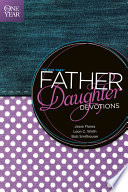The One Year Father Daughter Devotions Book