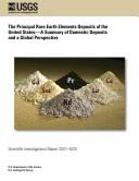 Principal Rare Earth Elements Deposits of the U  S