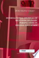 International Journal Of Multidisciplinary Perspectives In Higher Education