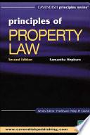 Australian Principles Of Property Law Book PDF