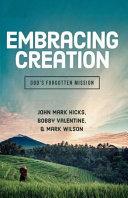 Embracing Creation