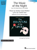 Pdf The Music of the Night (from The Phantom of the Opera) Telecharger