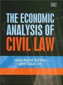 Economic analysis of civil law