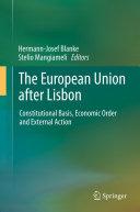 The European Union after Lisbon Pdf/ePub eBook