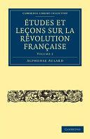 Études et leçons sur la Révolution Française