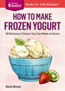How to Make Frozen Yogurt