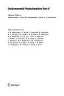 Environmental Photochemistry Part II Book