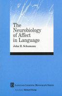 The Neurobiology of Affect in Language Learning Book