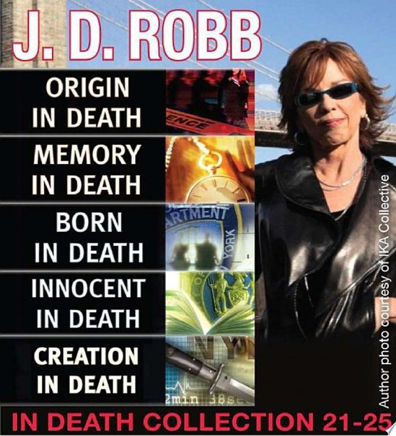 J.D. Robb IN DEATH COLLECTION books 21-25 banner backdrop