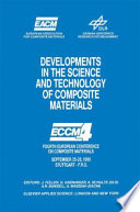 Developments In The Science And Technology Of Composite Materials Book PDF