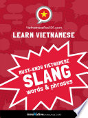 Learn Vietnamese  Must Know Vietnamese Slang Words   Phrases
