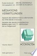 Mediations / Vermittlungen
