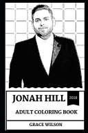 Jonah Hill Adult Coloring Book