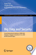 Big Data and Security
