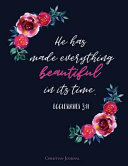 Ecclesiastes 3 11 He Has Made Everything Beautiful in Its Time  Christian Journal